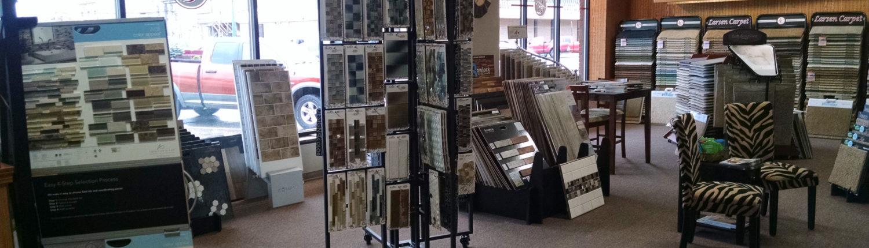 Larsen Carpet Showroom Tile
