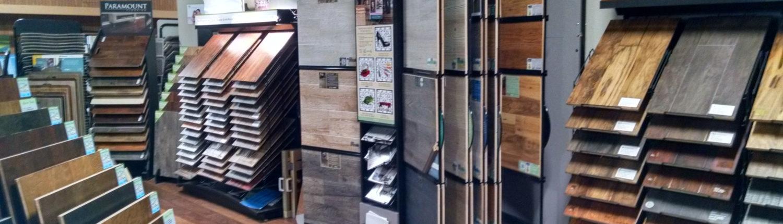 Larsen Carpet Showroom Hardwood