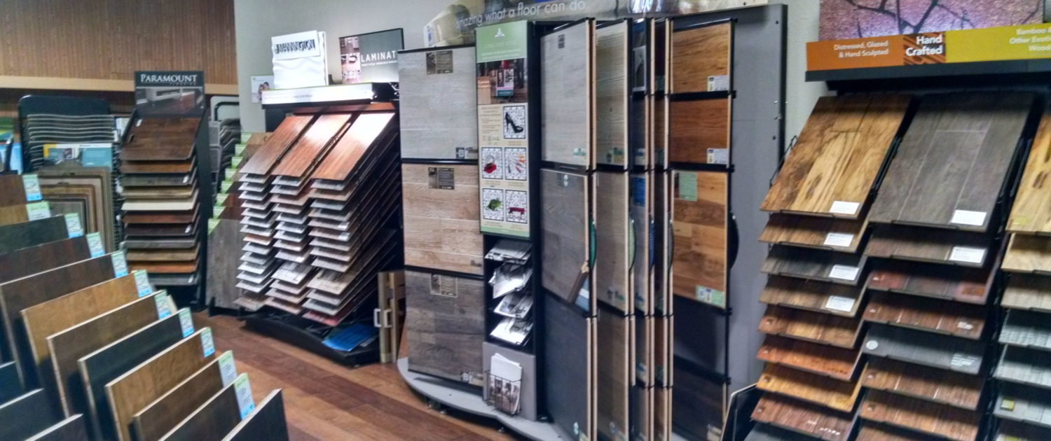 Larsen Carpet Showroom Hardwood