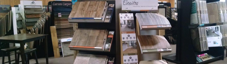 Larsen Carpet Showroom Luxury Vinyl Plank