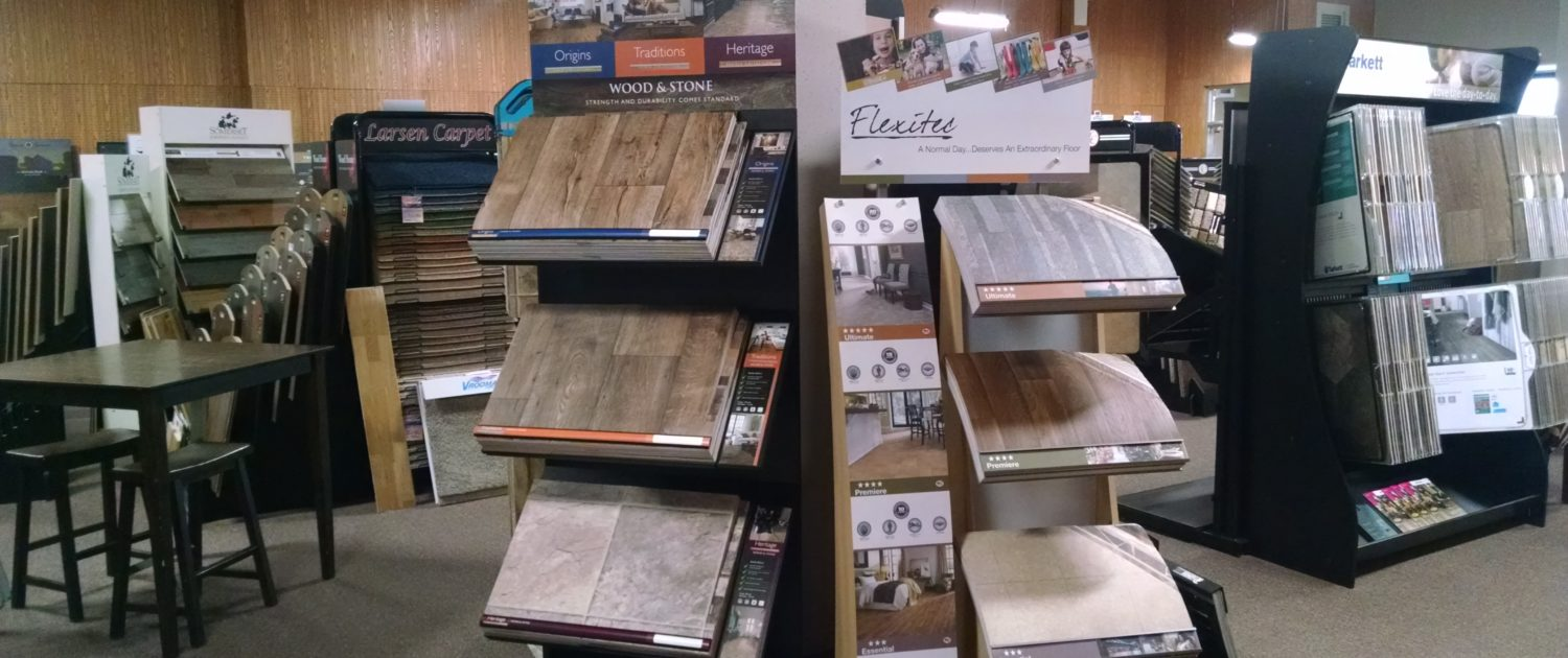Larsen Carpet Showroom Luxury Vinyl Plank