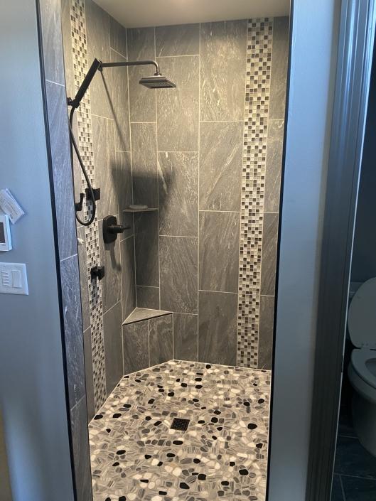 Upgraded Shower Tile