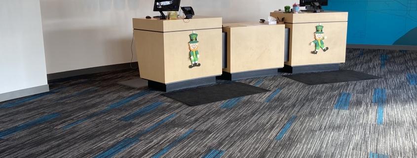 Midco's New Carpet